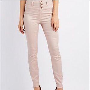 Refuge• High-Waisted Pale Pink Jean